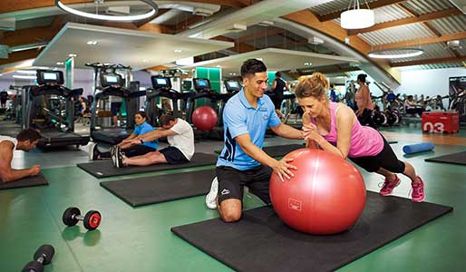 Personal training at David Lloyd