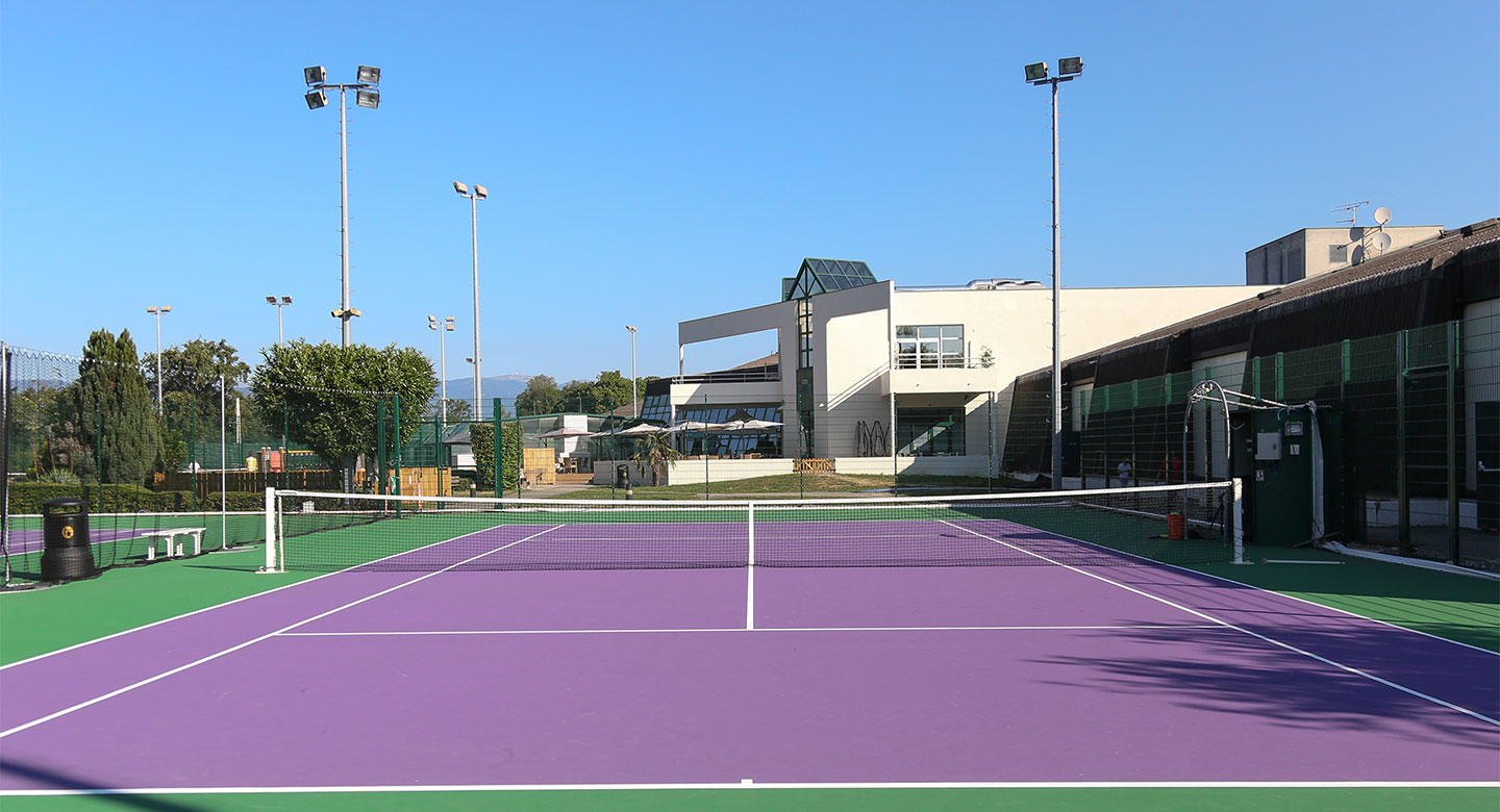 Geneva outdoor tennis courts
