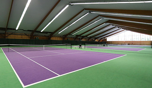 Geneva indoor courts