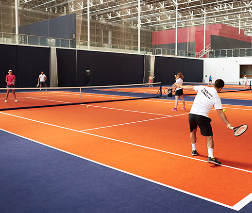 David Lloyd Clubs racquets coaching
